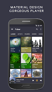 Pulsar Music Player Pro v1.9.2 build 164 [Patched] APK