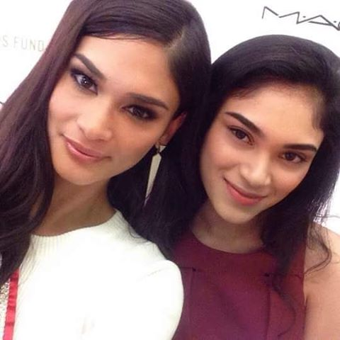 Pia Wurtzbach Finally Met Her Look-Alike, A Model And Student