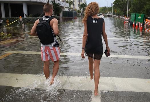 Miami bajo el agua: Millones de personas tendran que emigrar