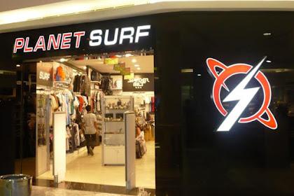 Lowongan Kerja Pekanbaru : Planet Surf Mall Ciputra April 2017