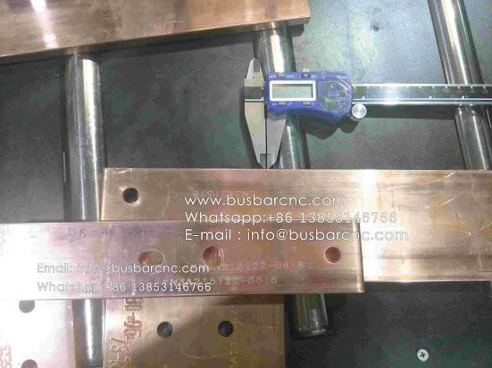 hydraulic busbar bender