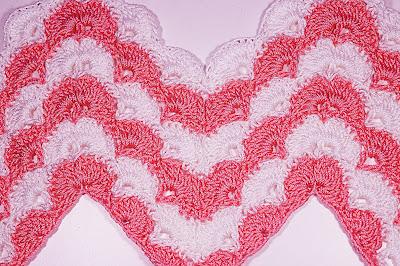6 - CROCHET IMAGEN Puntada zig zag en abanicos a crochet y ganchillo. Majovel crochet.