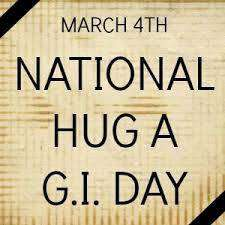 National Hug a G.I. Day Wishes Photos