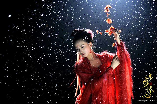 Liu Shi Shi in c-drama Scarlet Heart aka Bu Bu Jing Xin