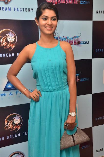 Telugu Actress Upasana Stills At Movie Audio Launch Actress Trend
