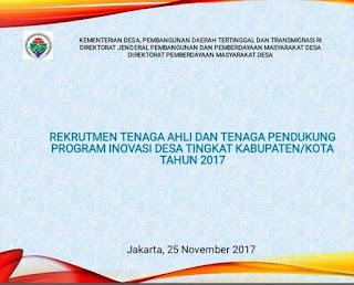 lowongan kerja Rekrutment PID 2017