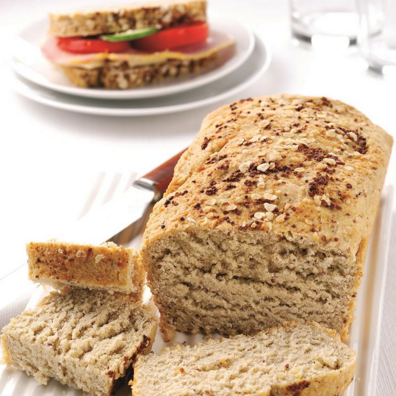 Cheddar & Grainy Mustard Oat Bread Recipe...