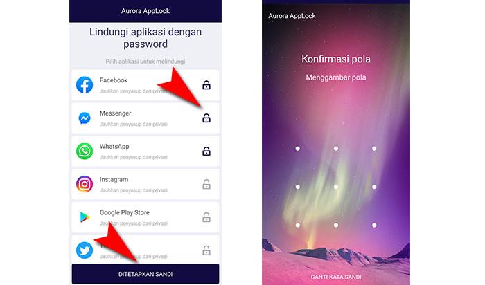 Cara Mengunci Aplikasi Realme C2 Dengan Pola Dan PIN