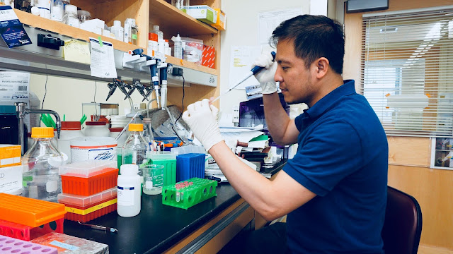 Dr. Ronald Panganiban, a USU graduate, works at the Harvard University T.H. Chan School of Public Health, and recently discovered a gene variant that reduces the susceptibility to asthma. (Courtesy photo)