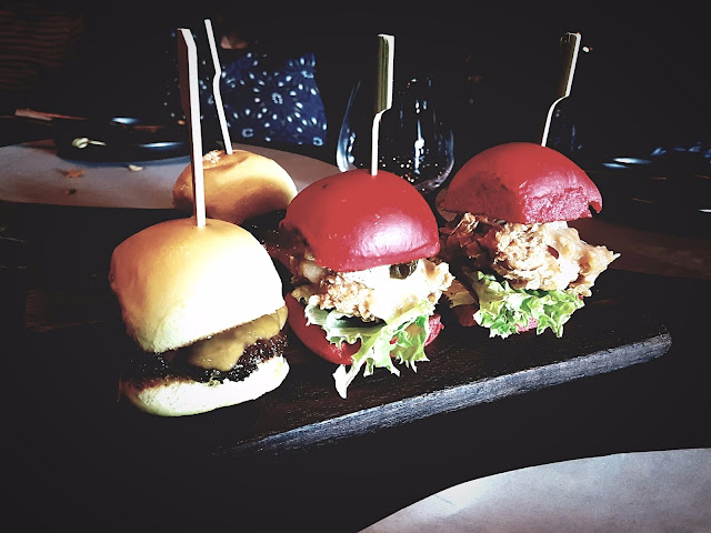 Wagyu Sliders and Dangerous Sliders - B+F Open Flame Kitchen, 360 Mall, Kuwait