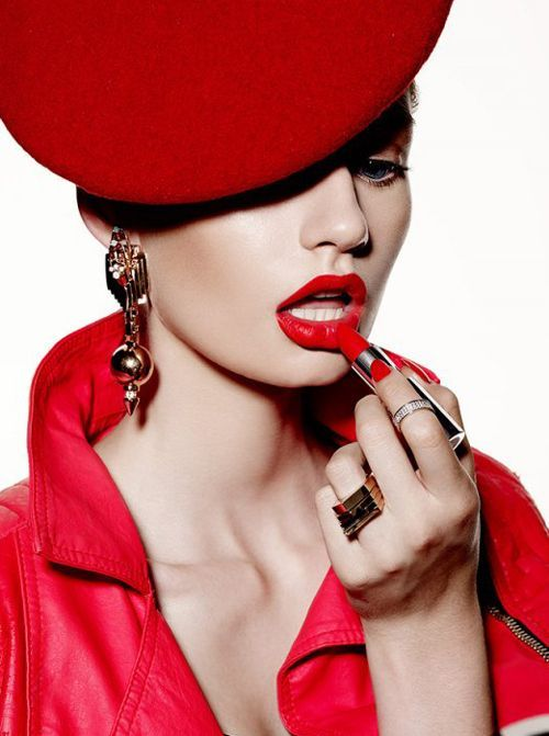 Red Lip Editorial Magazine