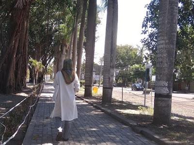 Kota Selong di salah satu hari di Ramadan 2020