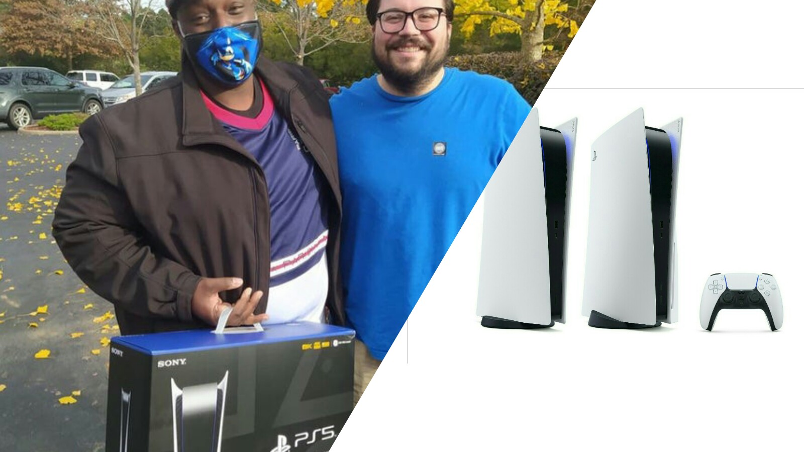 Man Buys Gaming Buddy Of 15 Years A PS5 So They Can Play Together