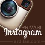 Cara Memprotect / Memprivasi Foto Postingan di Instagram