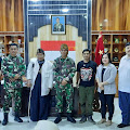 Kadisjarahad Brigjend TNI DR Rachmat Setia Wibawa S.I.P, M.M, M.Tr (Han) Dikunjungib Sesepuh Kawargian Abah Alam (KAA)