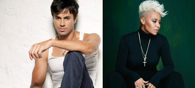 Enrique Iglesias and Emeli Sande