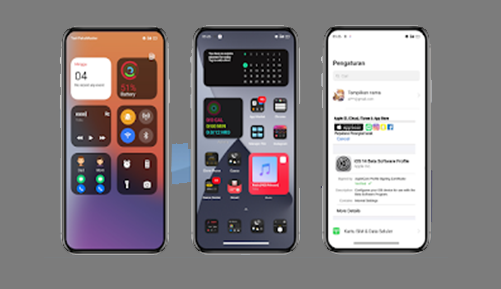 Download Tema iOS/ iPhone 15 Untuk Realme UI & Oppo Color OS 7, 6,& 5