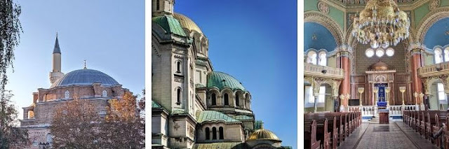 Things to do in Sofia Bulgaria: Explore religious architecture