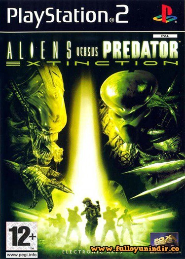 Aliens Versus Predator Extinction PS2