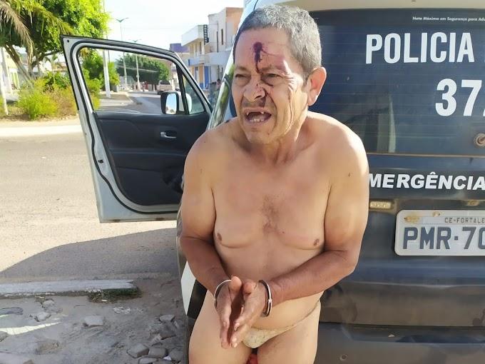 """Polícia prende em flagrante no município de Croatá o """"Taradão das Calcinhas"""""""