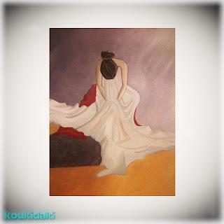 Πίνακας ζωγραφικής Maya N (Monely Woman, λάδι σε καμβά)