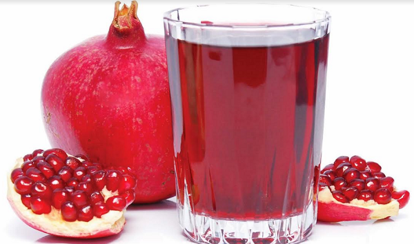 What are the benefits of pomegranate juice rumen