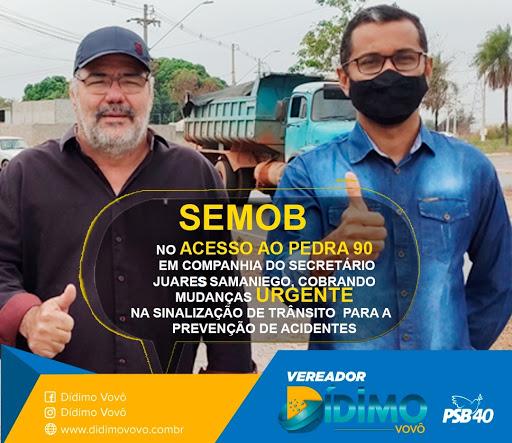 Mobilidade Urbana - Prefeitura de Cuiabá - Secretario Eng. Juares Samaniego