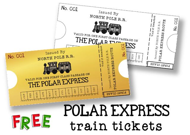 Love to Learn: Free Polar Express Train Tickets
