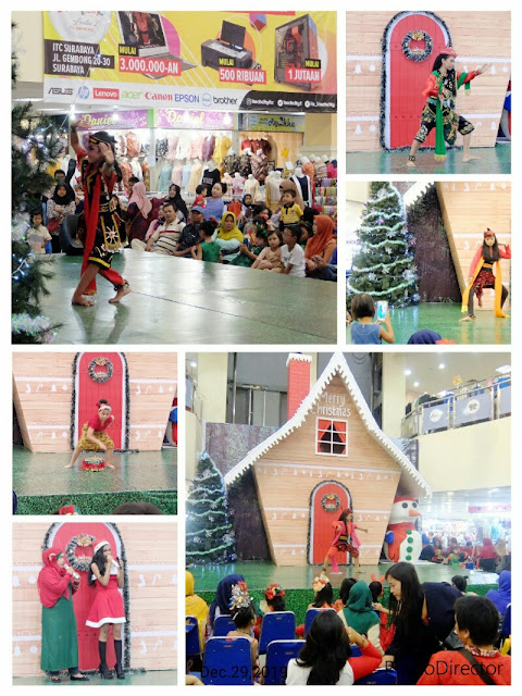 Christmas celebration in Indonesia