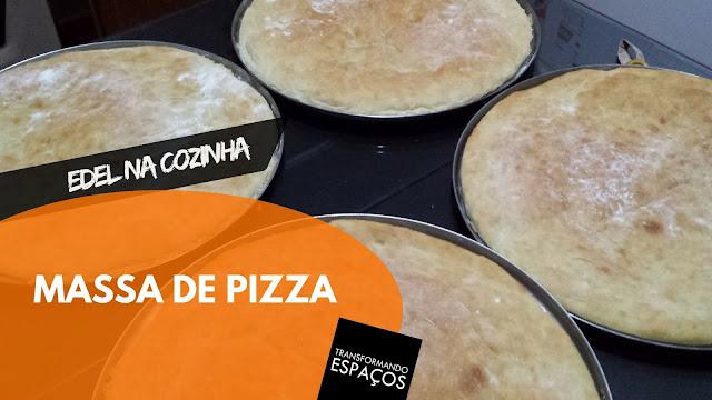 A melhor receita de massa de pizza do mundo