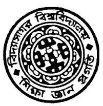 Vidyasagar University Exam Schedule 2020