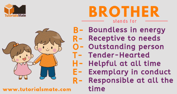 Full Form of BROTHER