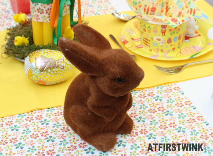 HEMA brown easter bunny decoration
