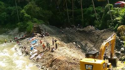 Polres dan Pemkot Sawahlunto Tak Berdaya Menindak Tambang Emas di Bawah Jembatan Silungkang