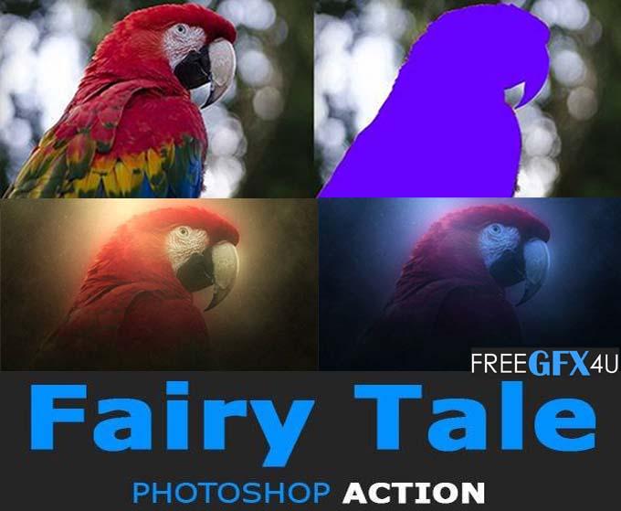 Fairy Tale Photoshop Action