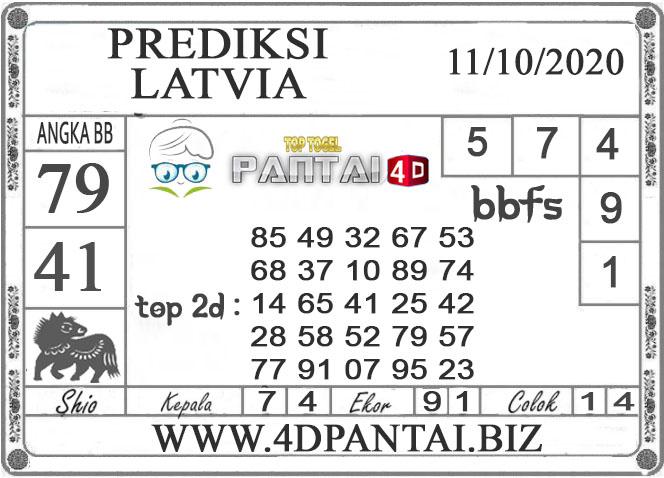 PREDIKSI TOGEL LATVIA PANTAI4D 11 OKTOBER 2020