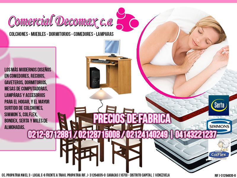 COMERCIAL DECOMAX C.A en Paginas Amarillas tu guia Comercial