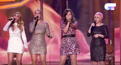Thalía, Marina, Natalia y Geno: Eternal Flame | OT 2017. Gala Navidad