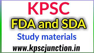 FDA AND SDA EXAM 2019 KANNADA GRAMMER PDF NOTES
