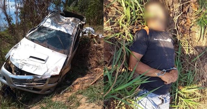 Capotamento deixa um morto e quatro feridos na rodovia Transamazônica BR-230, entre Itaituba e Jacareacanga