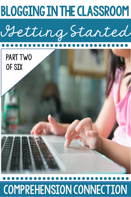 Are you interested in blogging in the classroom? This post is the second of a six part series to help teachers learn how to blog with students.