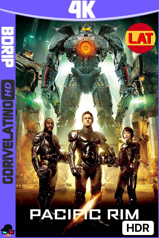 Titanes del Pacífico (2013) BDRip 4K HDR Latino-Ingles MKV