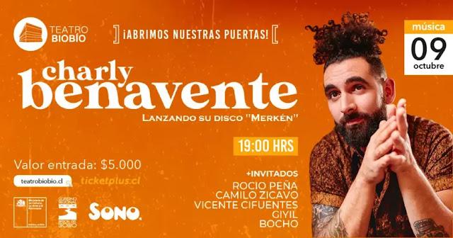 """Charly Benavente alista lanzamiento en vivo de su disco """"Merkén"""" musica chilena música chilena"""