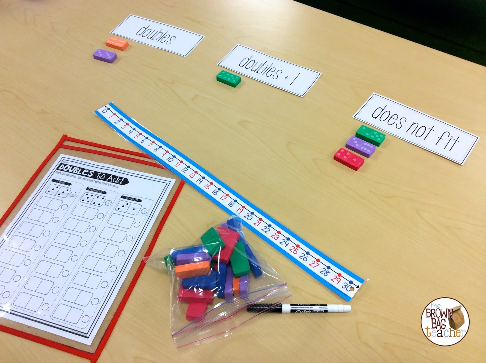 Guided Math in 1st Grade - The Brown Bag Teacher
