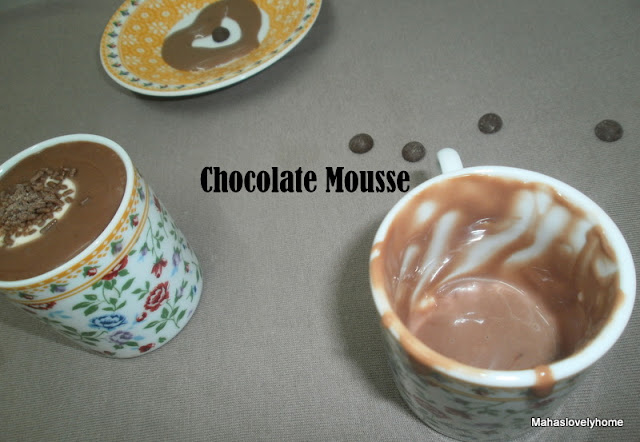 how to make mousse without eggs