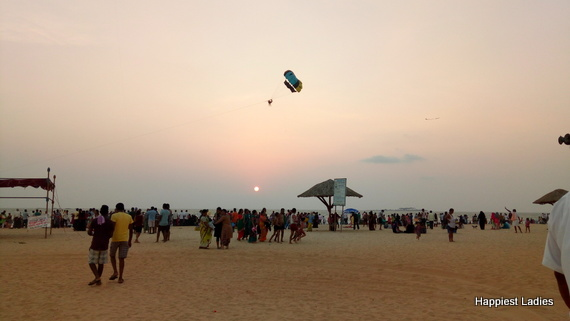 parasailing malpe beach