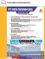 Lowongan Kerja di PT. Tirta Fresindo Jaya Pasuruan Maret 2020