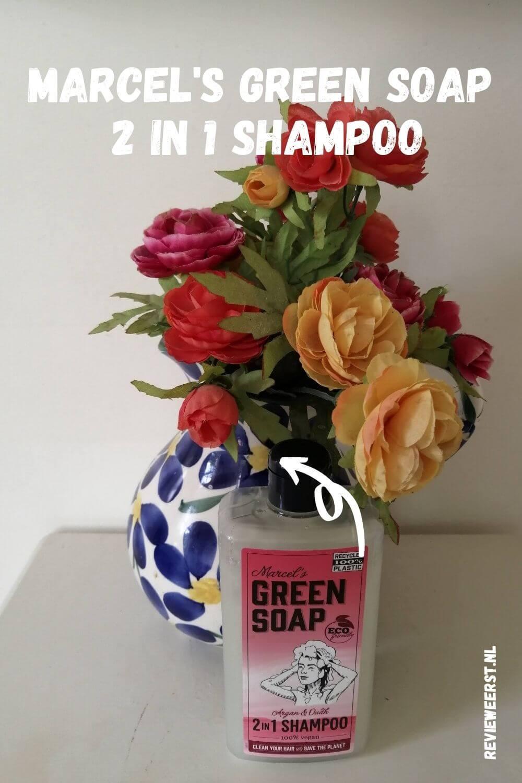 Marcel's Green Soap 2 in 1 shampoo