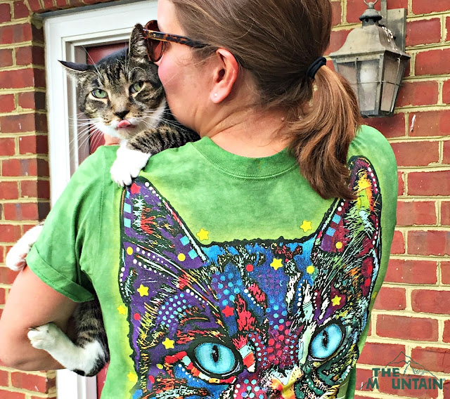 the Mountain Dean Russo rescue cat tee Maddox