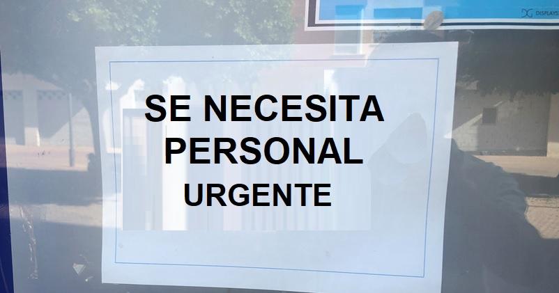 empleo vacante urgente